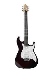 Samick MB-50 Greg Bennett Design Electric Guitar, Rosewood Fingerboard, Metallic Wine Red