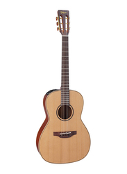 Takamine P3NY Acoustic Guitar with Case, Rosewood Fingerboard, Brown