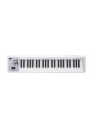 Roland A-49 MIDI Controller Keyboard, 49 Keys, White