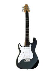Samick MB-1-LH Greg Bennett Design Electric Guitar, Rosewood Fingerboard, Black