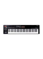 Roland A-800 Pro Midi Controller Keyboard, 61 Keys, Black