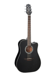 Takamine GD30CE-BLK Semi Dreadnought Acoustic Guitar, Rosewood Fingerboard, Black