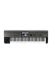 Korg Krome EX Music Workstation Keyboard, 61 Keys, Black