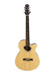 Passion FG028C40 Acoustic Guitar, Rosewood Fingerboard, Beige