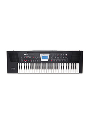 Roland BK-3 Backing Keyboard, 61 Keys, Black