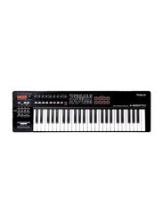 Roland A-500PRO Midi Controller Keyboard, 49 Keys, Black