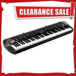 Korg SV1 Stage Vintage Digital Piano, 73 Keys, Black
