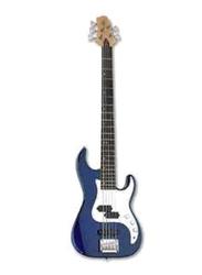 Samick CR-1 Greg Bennett Design Electric Bass Guitar, Rosewood Fingerboard, Cobalt Blue