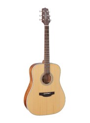 Takamine GD20 Dreadnought-Style Acoustic Guitar, Rosewood Fingerboard, Natural Satin Beige