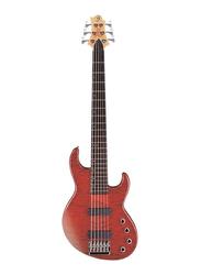 Samick FN-56 VS Greg Bennett Design Electric Bass Guitar, Rosewood Fingerboard, Red