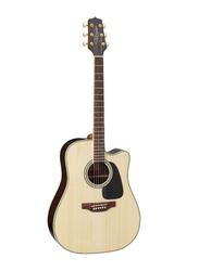 Takamine GD51CE-NAT Semi Acoustic Guitar, Bound Rosewood Fingerboard, Beige