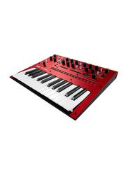 Korg Monologue Monophonic Analog Synthesizer Keyboard, 25 Keys, Red