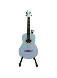 Samick ST6-2E-BL Greg Bennett Design Acoustic Guitar, Rosewood Fingerboard, Blue