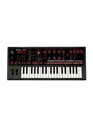 Roland JD-XI Interactive Analog Digital Crossover Keyboard Synthesizer, 37 Keys, Black