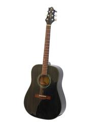 Samick D-4 Greg Bennett Design Acoustic Guitar, Rosewood Fingerboard, Black