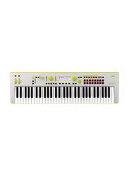 Korg Kross 2 Limited Edition Synthesizer Workstation Keyboard, 61 Keys, Grey/Green