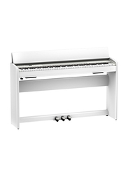 Roland F701 Digital Piano, 88 Keys, White