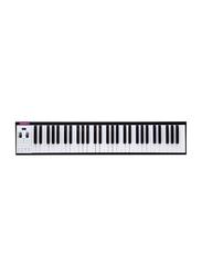 Musberry MSK61 Portable Electronic Keyboard, 61 Keys, Black