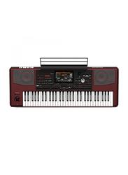 Korg PA1000 Professional Arranger Keyboard, 61 Keys, Red