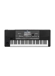 KORG Pa600 Professional Arranger Keyboard, 61 Keys, Black/White