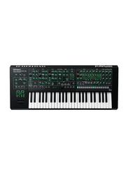 Roland System-8 Plug-out Synthesizer Keyboard, 49 Keys, Black