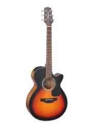 Takamine GF30CE-BSB Semi Acoustic Guitar, Rosewood Fingerboard, Yellow/Black