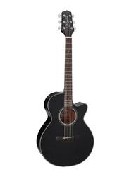 Takamine GF15CE Semi Acoustic Guitar, Rosewood Fingerboard, Black