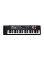 Roland FA-07 Music Workstation Keyboard, 76 Keys, Black