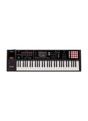 Roland FA-06 Music Workstation Keyboard, 61 Keys, Black