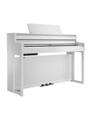 Roland HP704 Digital Piano, 88 Keys, White