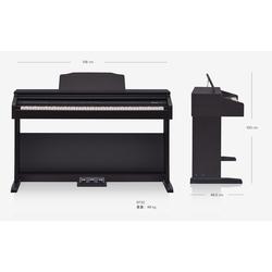 Roland RP30 Digital Piano, 88 Keys, Black