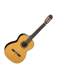 Takamine C132S Classical Guitar with Case, Rosewood Fingerboard, Natural/Brown