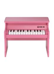 Korg Tiny Digital Toy Piano, 25 Keys, Pink