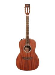 Takamine GY11ME NS Semi Acoustic Guitar, Laurel Fingerboard, Natural Brown