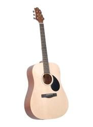 Samick GD-50-OPN Greg Bennett Design Acoustic Guitar, Rosewood Fingerboard, Beige