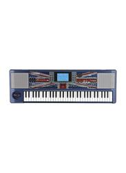 Korg Liverpool Professional Arranger Keyboard, 61 Keys, Blue