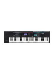 Roland JUNO-DS Keyboard Synthesizer, 76 Keys, Black