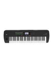 Korg i3 Music Workstation Keyboard, 61 Keys, Matte Black