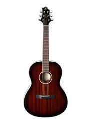Samick ST6-1-BS Greg Bennett Design Acoustic Guitar, Rosewood Fingerboard, Brown