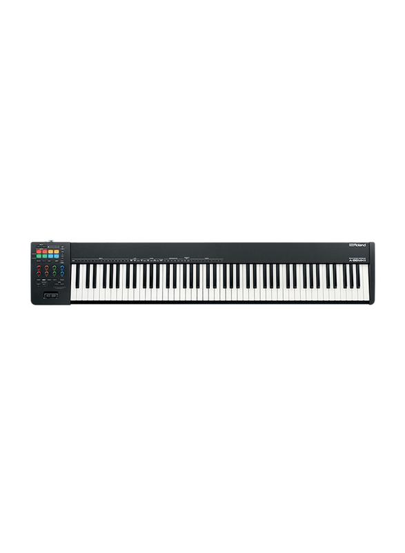 Roland A-88MKII MIDI Keyboard Controller, 88 Keys, Black