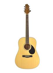 Samick GD-60-NAT Greg Bennett Design Acoustic Guitar, Rosewood Fingerboard, Brown