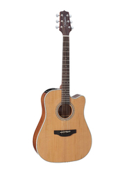 Takamine GD20CE-NS Semi Dreadnought Acoustic Guitar, Rosewood Fingerboard, Natural Beige