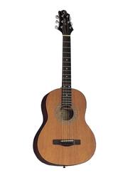Samick ST6-1-NAT Greg Bennett Design Acoustic Guitar, Rosewood Fingerboard, Brown