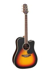 Takamine GD51CE-BSB Semi Acoustic Guitar, Rosewood Fingerboard, Yellow/Black
