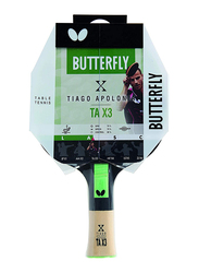 Butterfly Tiago Apolonia Table Tennis Racket, TAX3 85082, 19 Inch, Multicolour