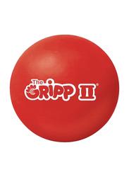 Tunturi The Gripp II Ball Hand Exerciser, Red