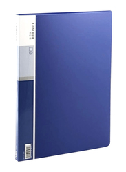 Deli Clear Book 20 Pockets File, A4 Size, Assorted Colors