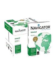 Navigator Universal Photo Copy Printer Paper, 2500 Sheets, 80 GSM, A4 Size