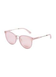 Tom Ford Full-Rim Cat Eye Gold Sunglasses for Women, Mirrored Gold Lens, TF725-K, 63/16/145