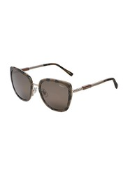 Chopard Full-Rim Cat Eye Havana Sunglasses for Women, Brown Lens, SCHC22, 54/20/135